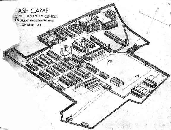 Ash Camp Shanghai Civilian Internment Camp